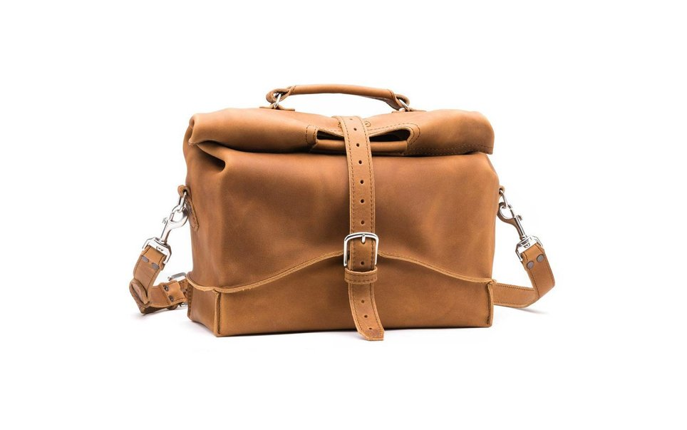 Saddleback Leather Overnight Bag in Tobacco