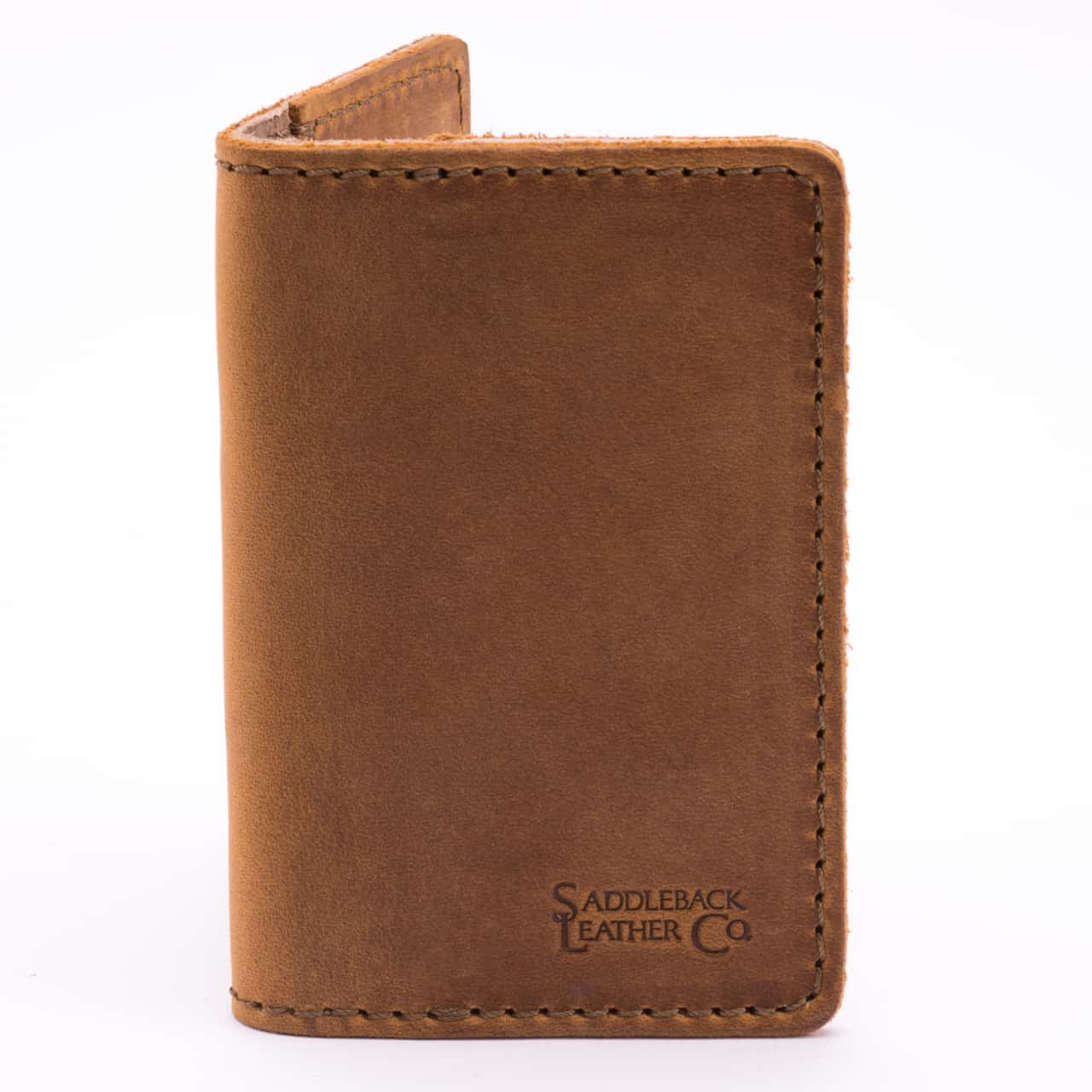 Leather Business Card Wallet, Full-Grain Leather