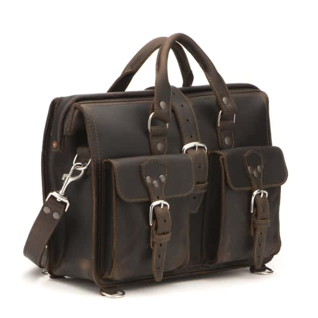 34da70dce9 Leather Laptop Bag